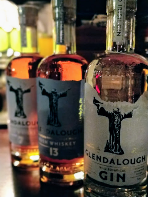 Bottles from Glendalough Distillery, Wicklow