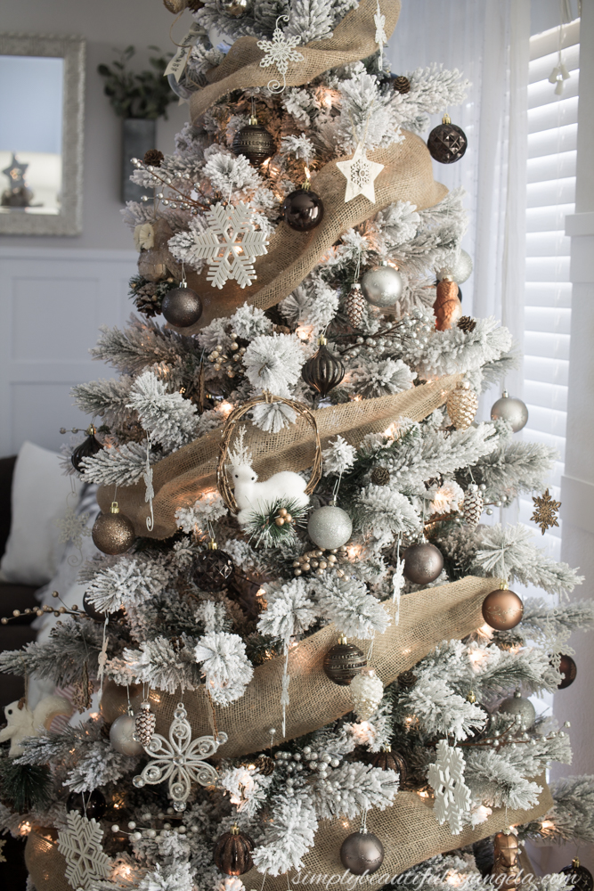 Winter Woodland Christmas Tree | Simply Beautiful By Angela