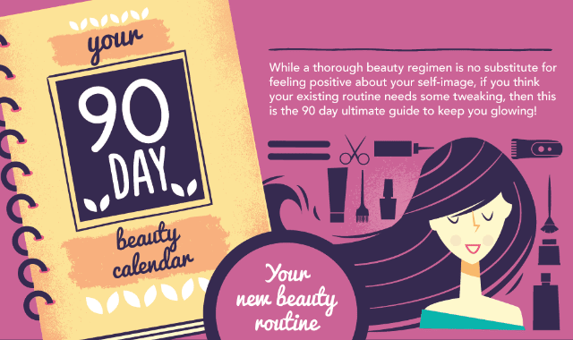 Your 90 Day Beauty Calendar
