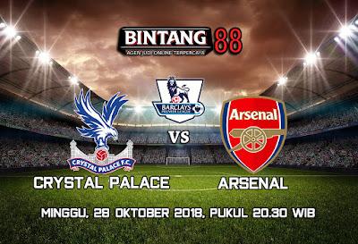 Prediksi Crystal Palace VS Arsenal 28 Oktober 2018