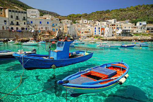 Levanzo Italy Beautiful Coastal Village