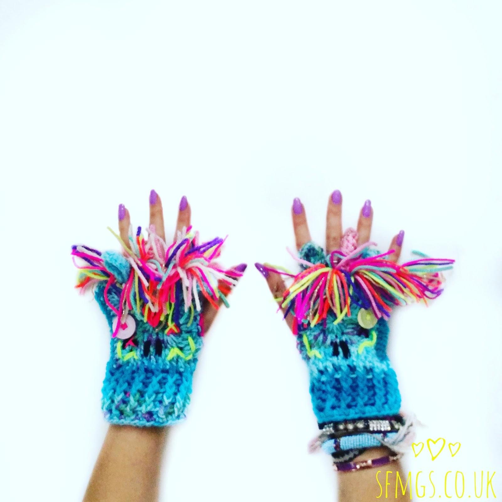 Set Free My Gypsy Soul | a Crochet Craft blog : Zombie Unicorn Wrist ...