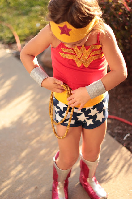 wonder woman costume kid