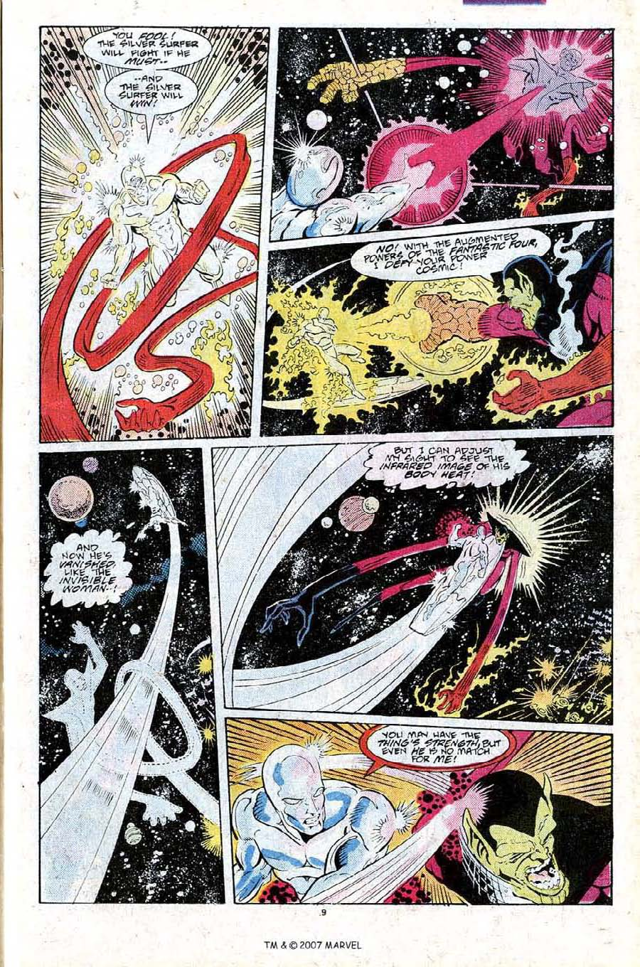 Read online Silver Surfer (1987) comic -  Issue #25 - 11