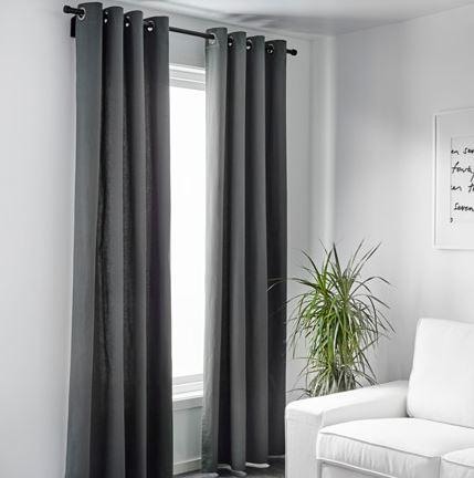 Ikea salas com cortinas modernas decora o e ideias - Salon rustico ikea ...