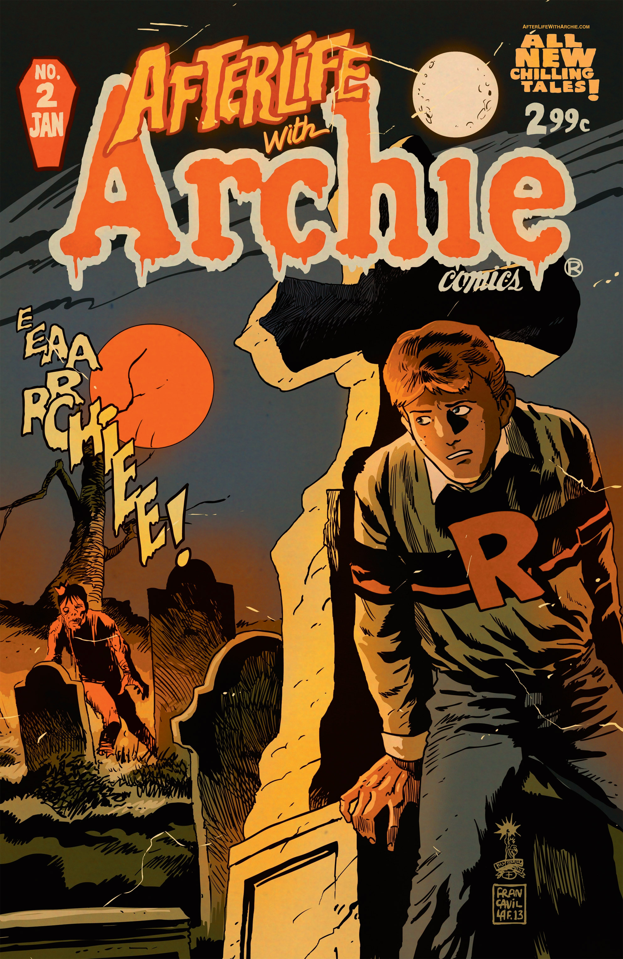 Read online Afterlife with Archie comic -  Issue #2 - 1