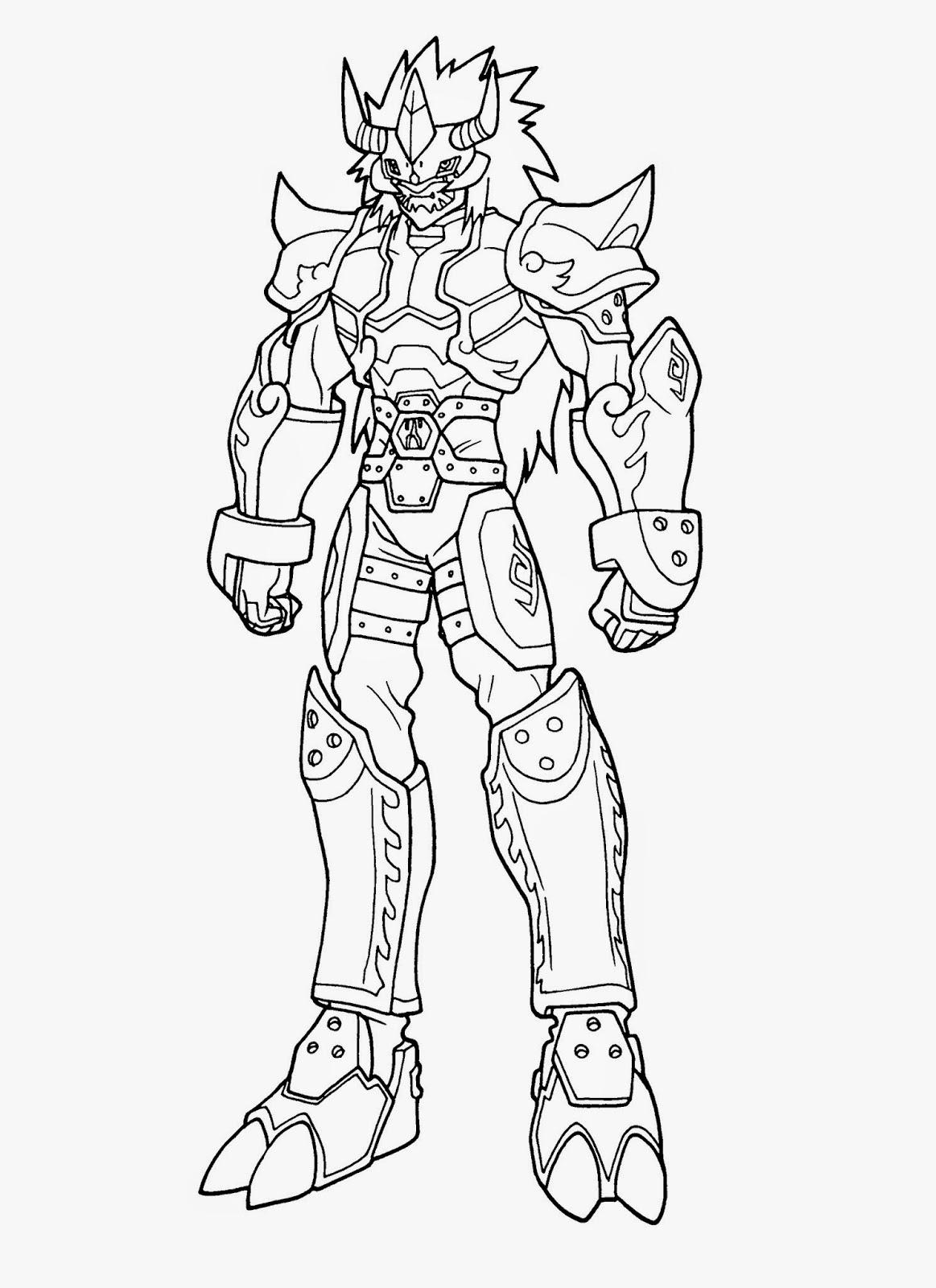 digimon data squad coloring pages   Desenhos para Colorir e Imprimir: Desenhos Digimon para ...