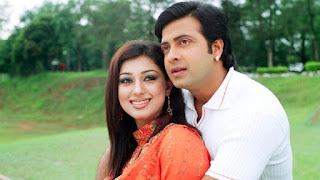 Shakib Khan and Apu Biswas Hot