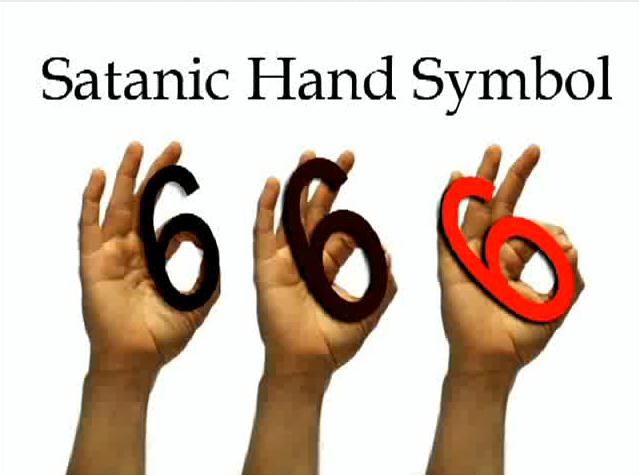 Simbol jari 666
