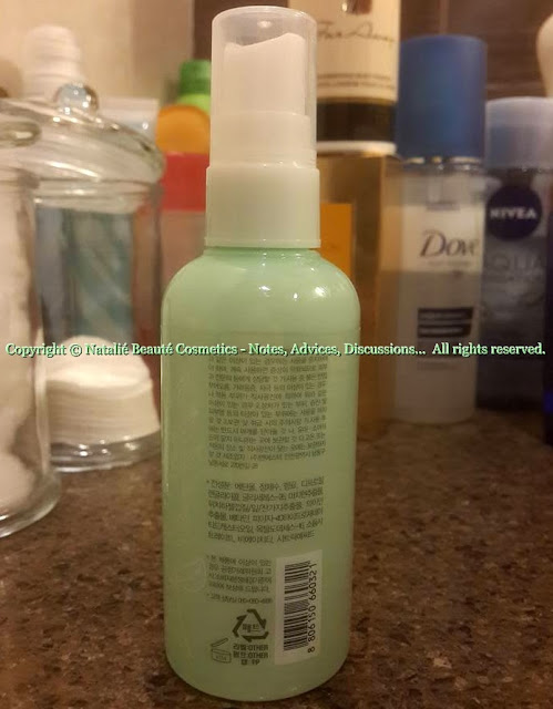 APRIL GREEN Shower Cologne - MISSHA, PERSONAL PRODUCT REVIEW AND PHOTOS BY NATALIE BEAUTE