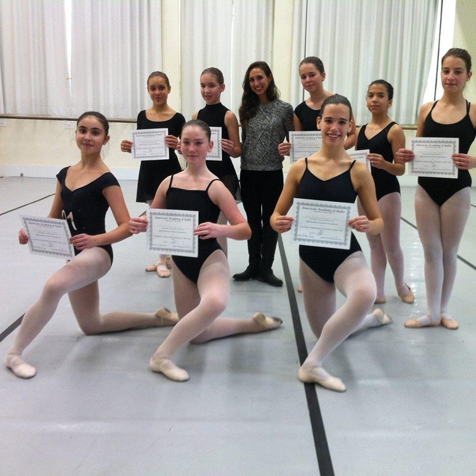 Audição Sumer School 2016 AAB - Alunas grau V Ballet da Escola de dança do Clube de Futebol de Sassoeiros