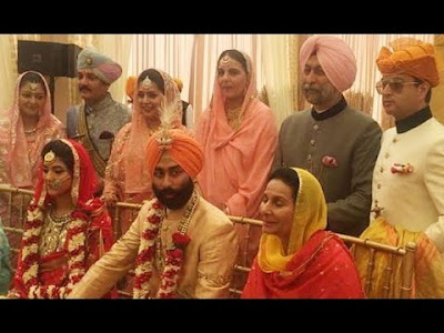 Wedding ceremony of Nirvana Singh and Mriganka Singh
