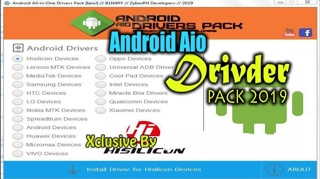 Android All in One Drivers Pack 2019