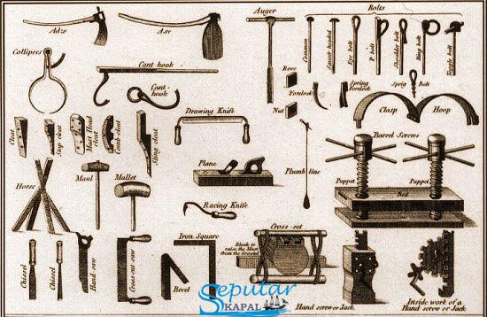 Alat-alat Pembuatan Kapal