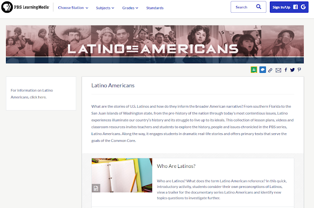 PBS Learning Media: Latino Americans