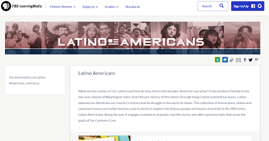Latino American Resources from PBS Learning Media