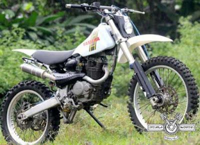 Modifikasi Keren Motor Trail/Cross Adventure Bebek Dan CB