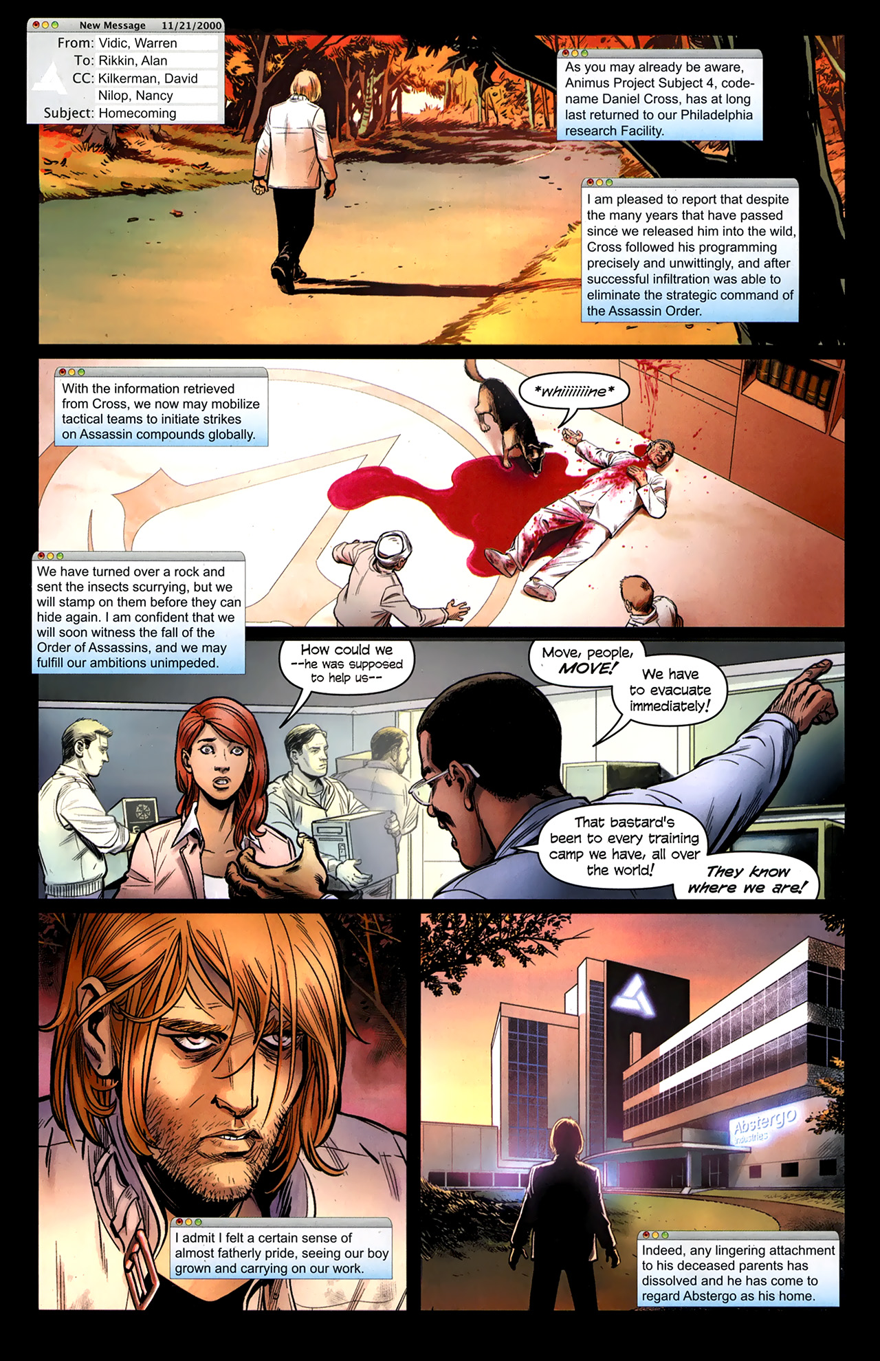Read online Assassin's Creed: The Fall comic -  Issue #3 - 25