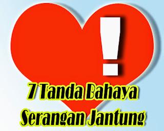 7 Tanda Bahaya Serangan Jantung