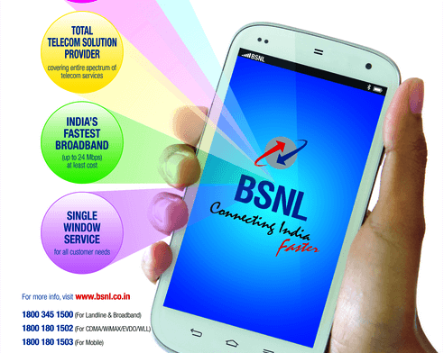 BSNL to offer 50% reducion in call rate for Retailers with with effect from 22nd June 2016 on wards on PAN India basis