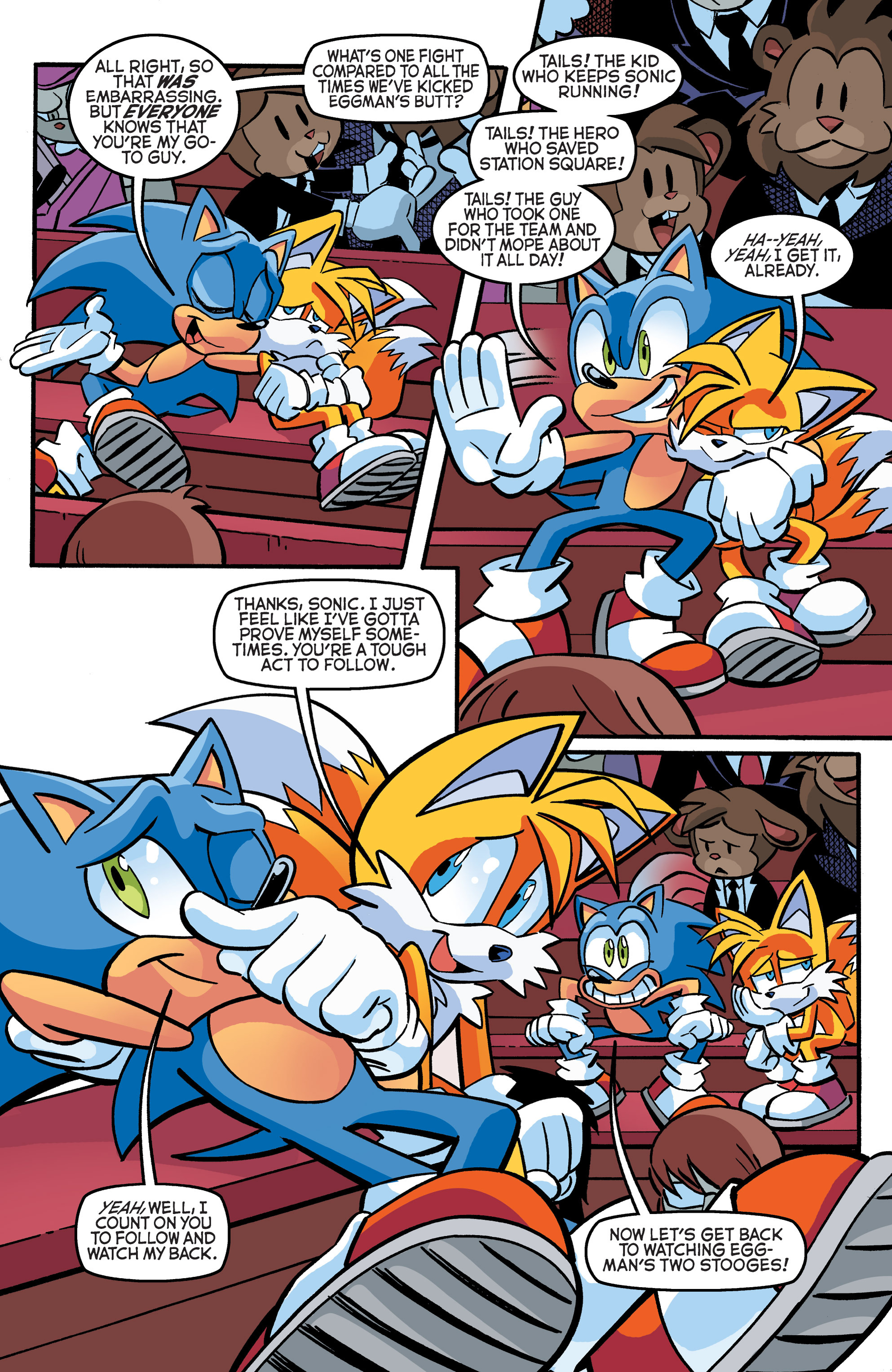 Read online Sonic The Hedgehog comic -  Issue #270 - 6