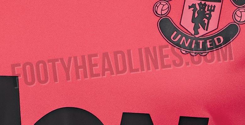 38412ae8f9b Pink Adidas Manchester United 18-19 Training Kit Leaked