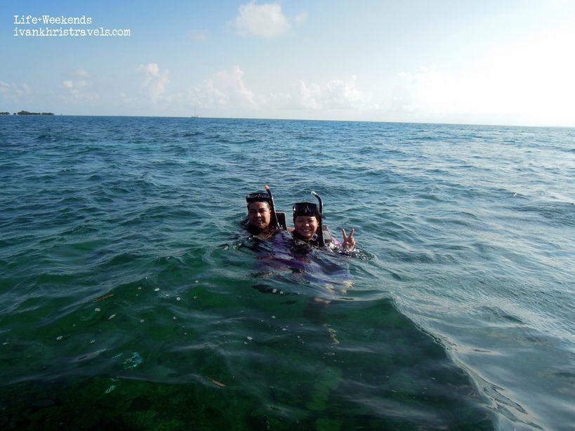 Snorkeling at Honda Bay in Palawan