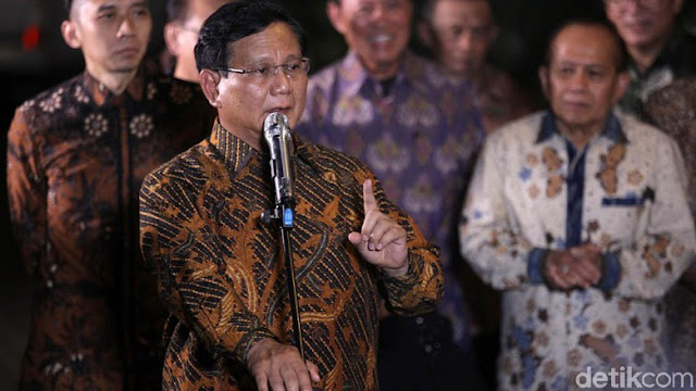 Prabowo Tak Menolak AHY, Gerindra Pengennya Anies, PKS Kasih 9 Nama