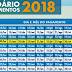 Calendário de pagamento do bolsa Família 2018