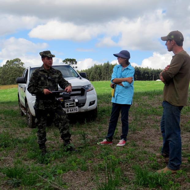 Cabo PM Joriel visita a primeira propriedade cadastrada no projeto PAC