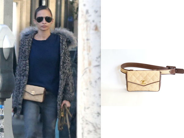 73f3353e1ec89 Yesterday, December 27, Nicole Richie was photographed shopping in West  Hollywood. The style icon was sporting a vintage Chanel fanny pack.