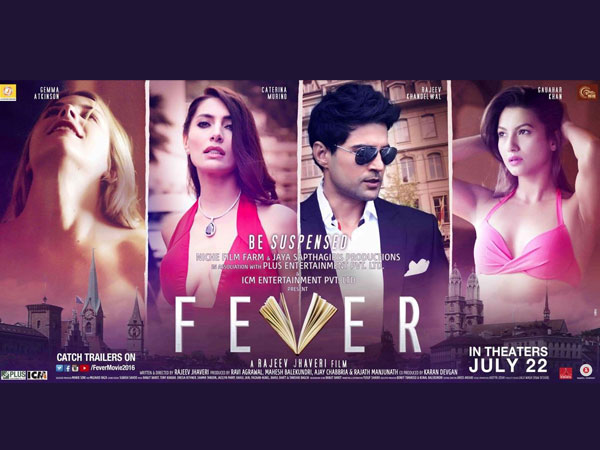 full cast and crew of bollywood movie Fever! wiki, story, poster, trailer ft Rajeev Khandelwal, Gauahar Khan, Gemma Atkinson and Ankita Makwana
