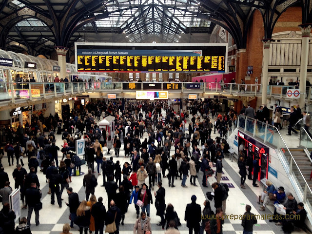 Liverpool Street Station en Londres