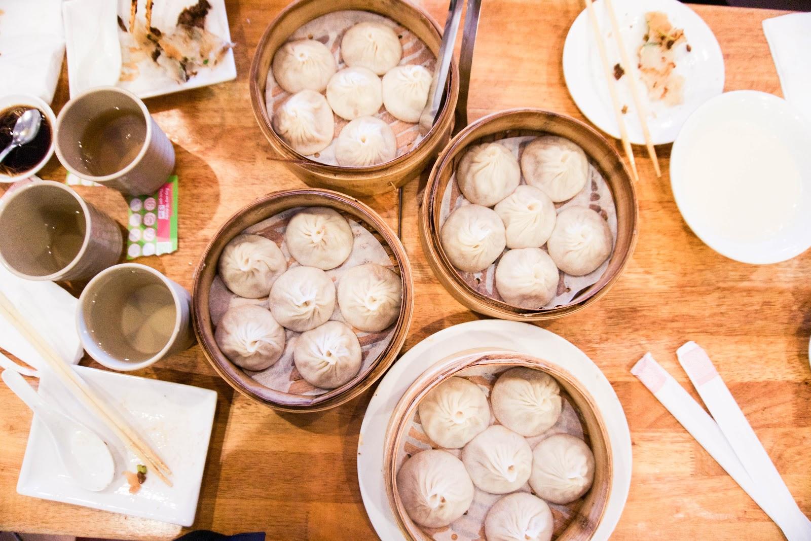soup dumplings for lunch