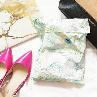 zena salon & boutique glam bag packaging