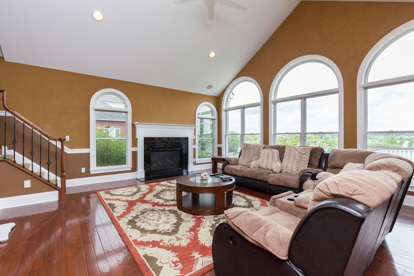 Interior living room real estate photographer Northville, Canton, Novi, Farmington Hills, Plymouth