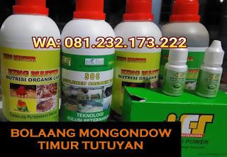 Jual SOC HCS, KINGMASTER, BIOPOWER Siap Kirim Bolaang Mongondow Timur Tutuyan