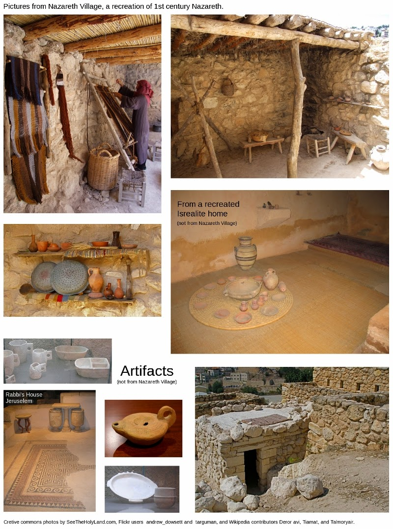Exploring Biblical Places And Times A House In Nazareth