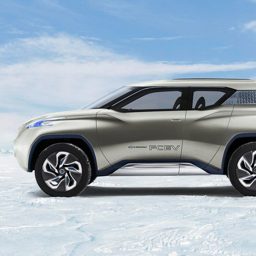 Tinuku Nissan TeRRA electric SUV the luxury eco-friendly more concrete in the Guangzhou Auto Show 2016