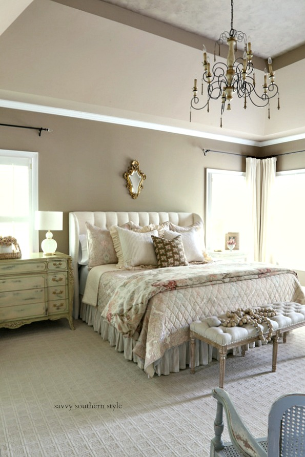 The MASTER BEDROOM, Which Is My Most Asked About Color, Is Alexandria  Beige. Iu0027m Not Sure What The Ceiling Colors Are As A Painter Did Those For  Us Several ...