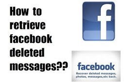 Retrieve Deleted Messages From Facebook.