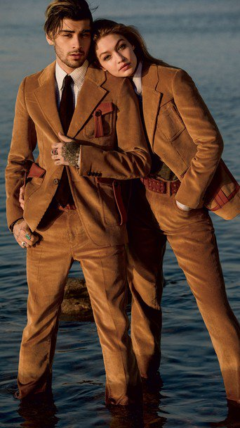 Джіджі Хадід та її коханий британський співак Зейн Малік