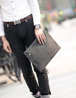 Jual Online Dompet Pria Korea Model Terbaru Maret 2016