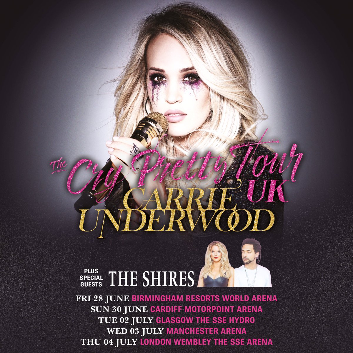 76d86d722f Multi-platinum superstar and seven-time GRAMMY® Award winner Carrie  Underwood has announced a major UK arena tour for Summer 2019