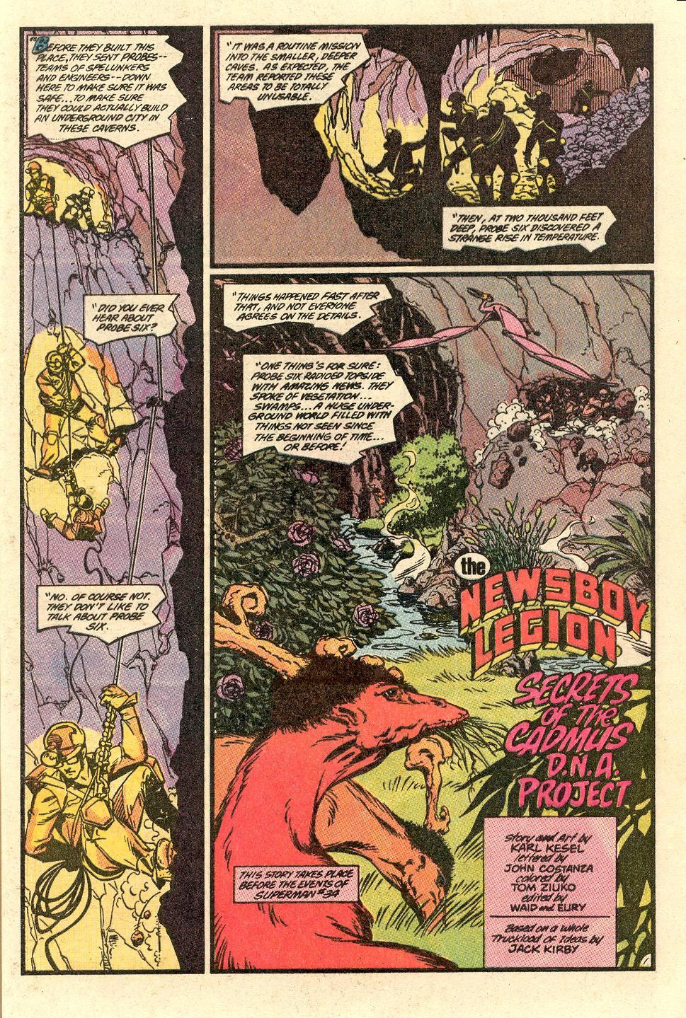 Read online Secret Origins (1986) comic -  Issue #49 - 4