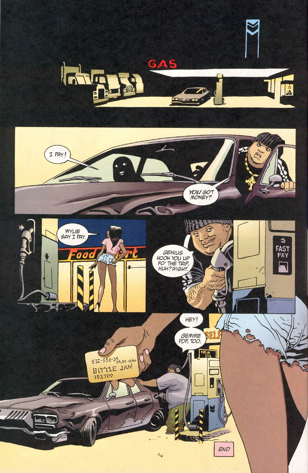 Read online 100 Bullets comic -  Issue #30 - 24