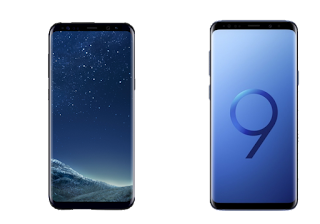 Image result for Galaxy S8 vs galaxy S9