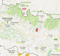 okhaldhunga_earthquake_epicenter_map