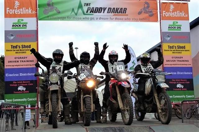 Paddy Dakar 2018 - Doon, County Limerick, Ireland