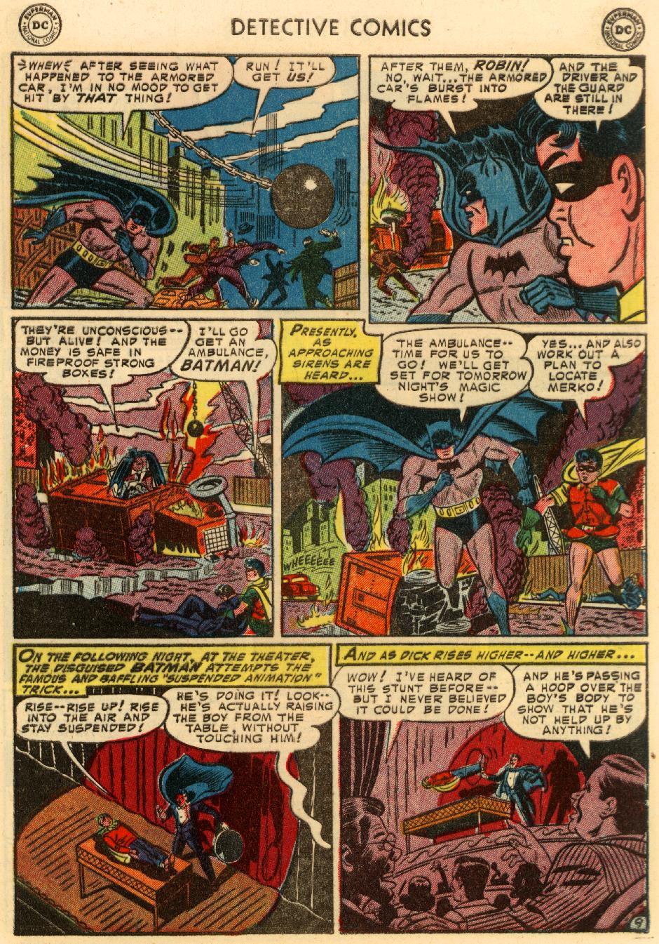 Read online Detective Comics (1937) comic -  Issue #207 - 10